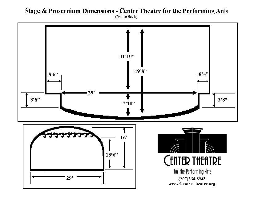 Stage Diagram | Center Theatre